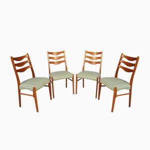 Mid-Century Teak Dining Chairs by Arne Wahl Iversen for Glyngøre Stolefabrik, Set of 4
