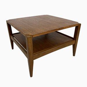 Scandinavian Teak & Formica Coffee Table, 1950s