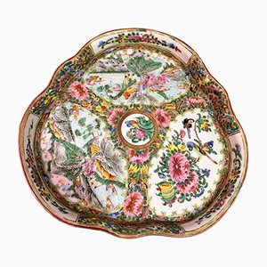 Antique Chinese Canton Tray