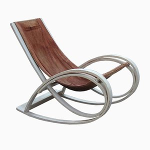 Sgarsul Rocking Chair by Gae Aulenti for Poltronova, 1960s