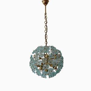 Mid-Century 13-Flamed Sputnik Dandelion Chandelier from Fontana Arte, 1960s