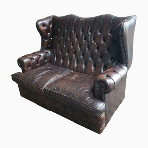 Vintage 2-Seat Chesterfield Sofa, 1960s