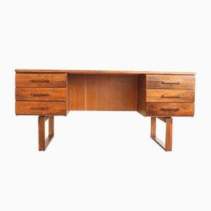 Rosewood Desk by Henning Jensen & Torben Valeur, 1950s