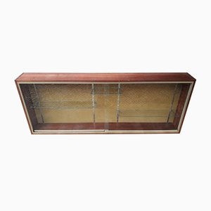 Wood & Glass Cabinet, 1950s