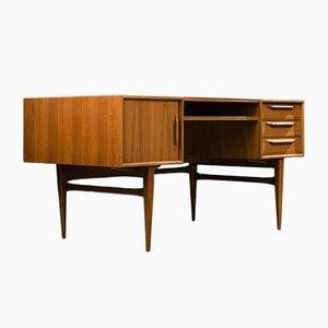 Bureau en Teck par Heinricha Riestenpatta pour RT Mobel, 1960s