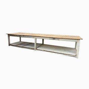 Großer Drapierung Tisch