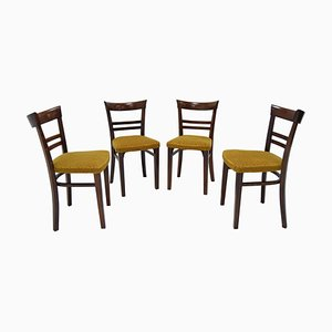 Art Deco Dining Chairs by Fischel, 1930s, Set of 4