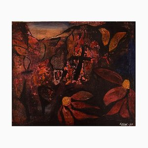 Ivy Lysdal, Acryl auf Leinwand, Abstrakte Moderne Malerei, 1997