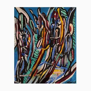 Ivy Lysdal, Acryl auf Leinwand, Abstrakte Moderne Malerei, 2007