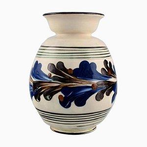 Glazed Stoneware Vase by Nils Kähler for Kähler HAK, 1930s