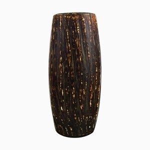 Vase into Glazed Stoneware by Gunnar Nylund for Rörstrand, 1960s