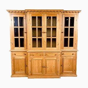Pine Kitchen Display Cabinet