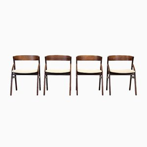 Rosewood Dining Chairs, Set of 4