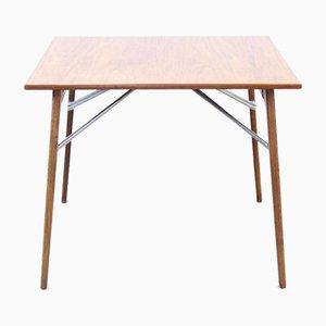 Table à Rallonge en Teck et Chêne par Borge Mogensen pour Soborg Mobler