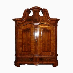 18th Century Solid Walnut Cabinet