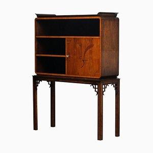 Art Deco Dry Bar / Display Cabinet, Sweden, 1930s