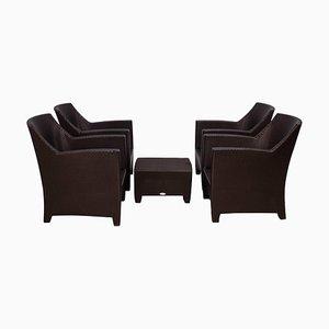 Dedon's Barcelona Garden Lounge Set