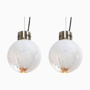 Pendant Hanging Light by Carlo Nason for Mazzega