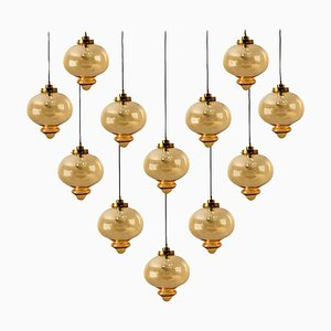 Large Pendant Light in the Style of Raak, 1960s
