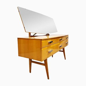 Vintage Gloss Maple Dressing Table from Meredew