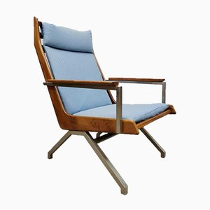 Mid-Century Dutch Lotus Armchair Lounge by Rob Parry for Gelderland