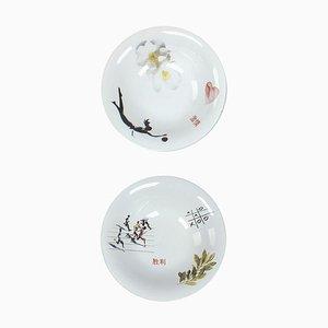 Bowls by Marcel Wanders for Tichelaar Makkum, Set of 2