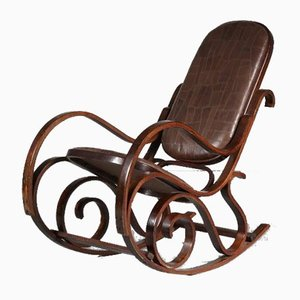 Rocking Chair by Luigi Crassevig, 1970s