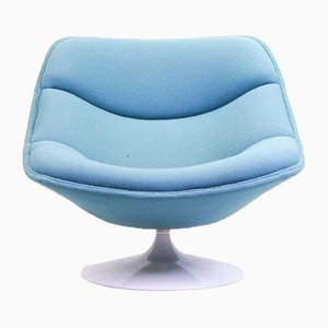 Oyster F557 Swivel Chair by Pierre Paulin for Artifort