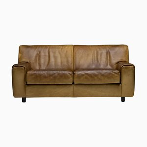 DS-42 2-Seat Sofa in Buffalo Leather from de Sede, 1970s