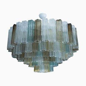 Lampada da soffitto Tronchi in vetro di Murano, anni '50