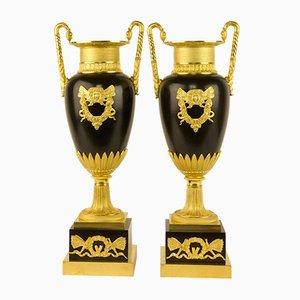 Empire Vasen aus Empire Vasen aus Amphora, Frankreich, 2er Set