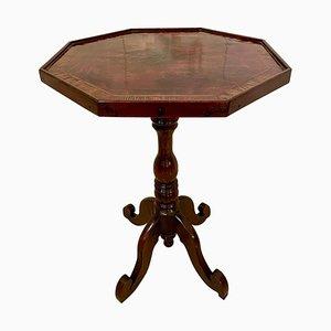 Antiker viktorianischer neuseeländischer Tisch von WH Jewell Christchurch, 19. Jh