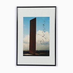 Richard Serra, Bramme für das Ruhrgebiet, Fotografie, 1998