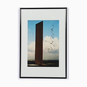 Richard Serra, Bramme pour le district de la Ruhr, photographie, 1998