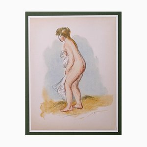Pierre-Auguste Renoir, Bather Standing In Foot,Lithograph