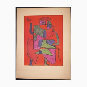 Paul Klee, Der Kunftige (Arrival of the Bridegroom), Collotype Print