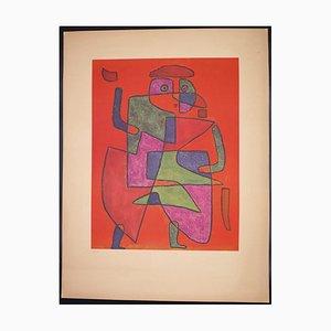 Paul Klee, Der Kunftige (Llegada del novio), Collotype Print