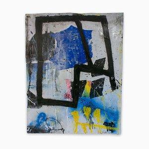 Baribeau, Color Trac # 5, 2020, Acryl auf Papier