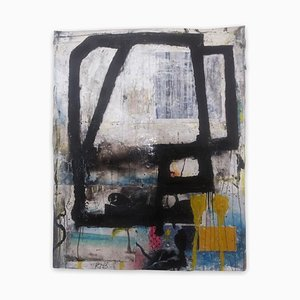 Baribeau, Color Trac # 24, 2020, Acryl auf Papier