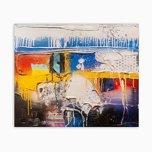 Baribeau, Untitled Blue, 2007, Acrylic on Canvas
