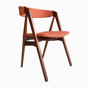 Mid-Century Danish Teak Desk Chair by Th. Harlev, 1960s