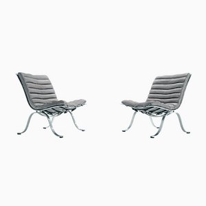 Ariet Lounge Chairs by Arne Norell for Arne Norell AB, 1968, Set of 2