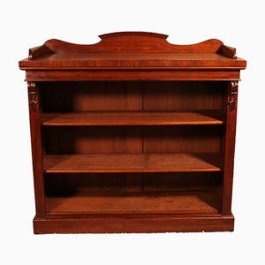 Antique English Mahogany Bookshelf, 1800s