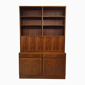 Mid-Century Danish Rosewood Shelving System from Omann Jun, 1960s