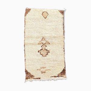 Vintage Berber Beni Ourain Carpet