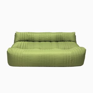 French Green Aralia Sofa from Ligne Roset, 1980s