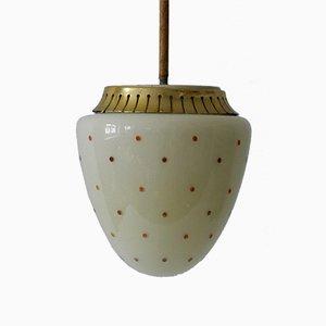 Mid-Century German Modern Pendant Lamp, 1950s