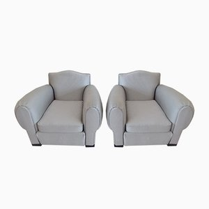 French Art Deco Elephant Lounge Chairs, 1940s, Set of 2
