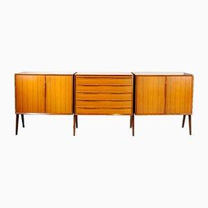 Italian Ico Parisi Style Sideboard, 1950s