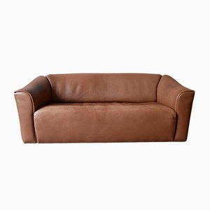Mid-Century Neck Leather DS 47 3-Seat Sofa from de Sede